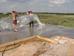Способы ухода за бетоном